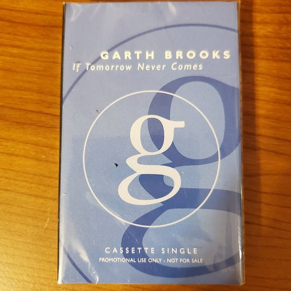 """Garth Brooks """"If Tomorrow Never Comes"""" Cassette"""